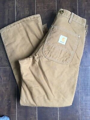 Carhartt insulated work pants size 30x28