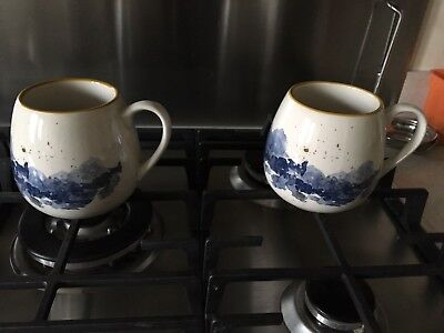 4 Pottery Mugs - Excellent Condition