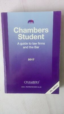 Chambers  Student . A guide to law firms and the Bar      20th Edition
