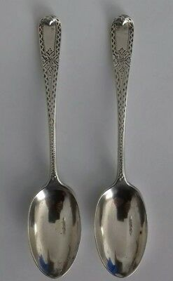 2 Small Silver Spoons