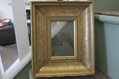 Vintage Gold Gilded Pine Wood Picture Frame 9.5'' X 8''
