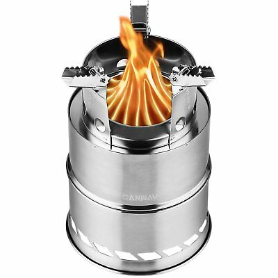 Portable Outdoor Cooking Pot Stainless Steel Camping Backpacking Pot Cup I3M1