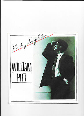 City Lights - William Pitt -  7 Single