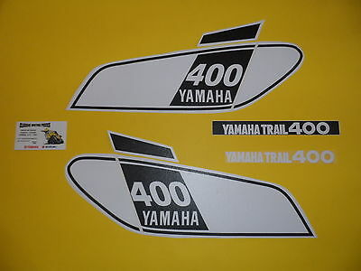 Dt 400  Yamaha  Annee 1975  Sickers Reservoir  /decal Set For Fuel Tank