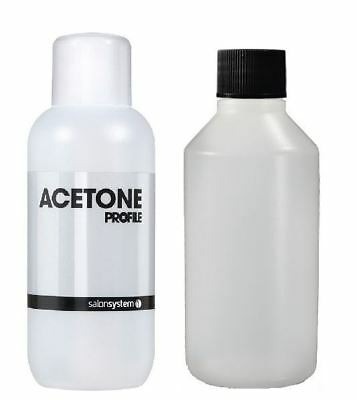 Salon System Profile Acetone Gel Nail Polish/ Acetone 99.9% Pure High Quality