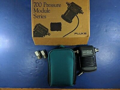 Fluke 700P00 Pressure Module, Excellent, Box, Case, More