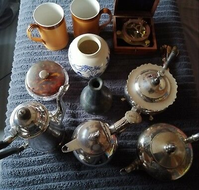 Nice Lot Of Antique And Vintage  Collectibles Job-Lot