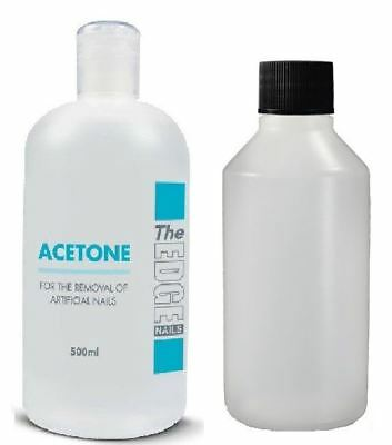 The Edge Nails High Grade Acetone Tip Remover/ Acetone 99.9% Pure High Quality