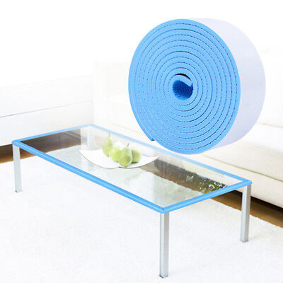 Home Blue Sponge Baby Safety Window Door Table Stop Jammer Guard Protect Tool LH