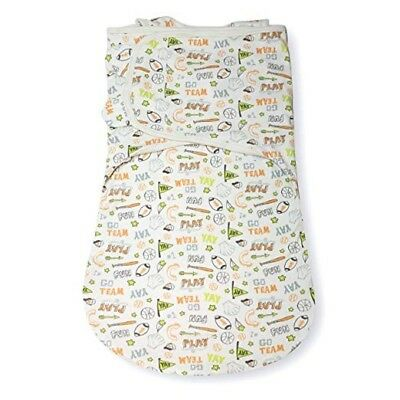 New Summer Infant SwaddleMe WrapSack Blanket, Sketchy Sport, Large Sleepsack