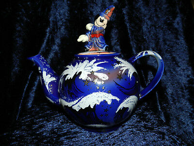 Disney Showcase Teapot - Sorcerer's Apprentice -  Paul Cardew Limited Edition
