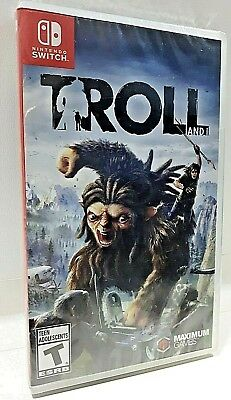 TROLL AND I - Nintendo Switch 2017 BRAND NEW & Original Y-FOLD SEALED VIDEO GAME