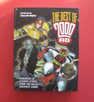 The Best Of 2000AD Hard Cover Book