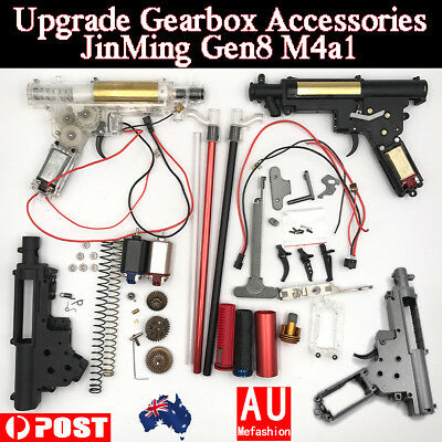 All Upgrade Metal Parts Gearbox Gel Ball Blaster JinMing Gen8 M4A1 for Toy OZ!