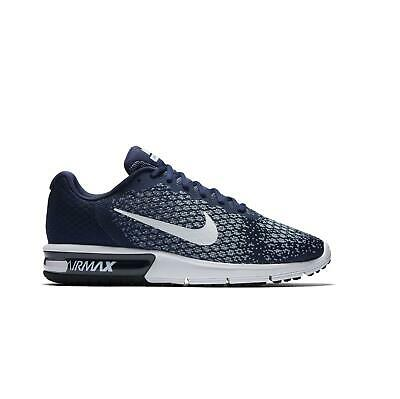 promo code e07c0 d912a Mens NIKE MAX SEQUENT 2 Blue Trainers 852461 400 UK 11