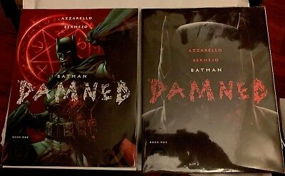 BATMAN DAMNED 1A1B 2A Jim Lee Variant KEY COMIC LOT 1st Print DC BLACK LABEL H@T