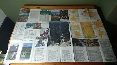Colorado USA State Photo Picture Detailed Map 1991 Recreational Activities