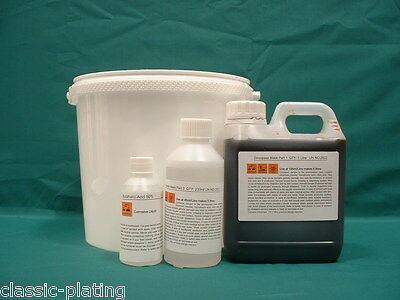 Olive Drab Passivate 5 litres for Zinc Plating Kit Electroplating P4