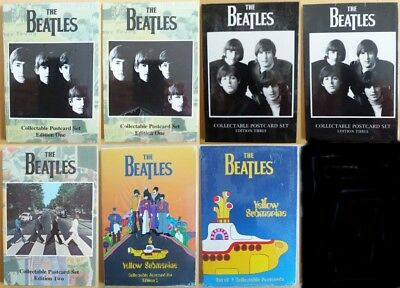 The Beatles-Collectable Postcard sets x7-Official Merchandise