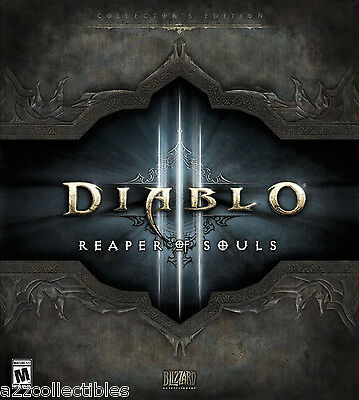 Diablo 3 III: Reaper of Souls Collector's Edition BRAND NEW SEALED PC / Mac 2014