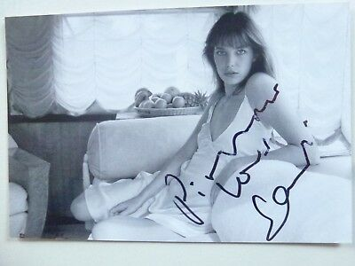 PHOTO VERITABLE dédicacée par Jane BIRKIN