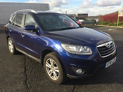 7 Seat 2010 Hyundai Santa Fe Premium CRD Auto, with leather! Low reserve auction