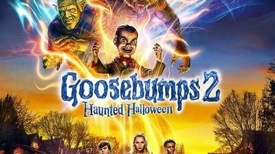 Goosebumps 2 Haunted Halloween SD Digital Code Only Movies Anywhere