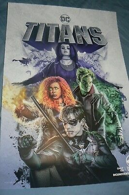 Nycc 2018 Dc Universe Titans Poster