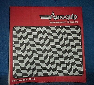 NEW 32 in... Aeroquip  AQP  FCA1003  10AN  Braided Stainless Steel Hose