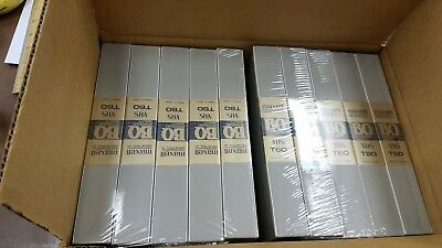 Maxell, Professional Broadcast Quality - 10 pcs. VHS tapes with cases