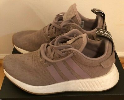 outlet store 5fa04 65623 NEW Adidas NMD R2 Primeknit Boost Vapor Grey Taupe SZ 4.5 Men  5.5 Women  CQ2399
