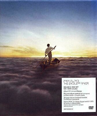 Pink Floyd ~ The Endless River - Deluxe Casebook Edition [CD+DVD] New & sealed!!