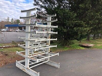 Industrial Steel Storage Racks - Steel Piping and Angle Iron