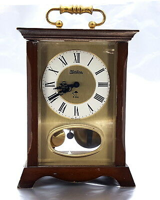 Vintage SSS Germany Carriage mechanical clock