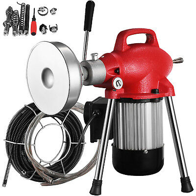 300-500W Drain Pipe Cleaning Machine Local Tool 98ft Max Length NEWEST PROMOTION