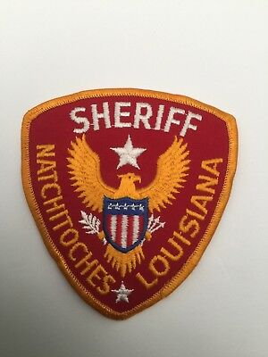 Natchitoches Sheriff, Louisiana old shoulder patch