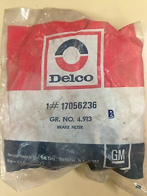 NOS 78-81 Chevy,Buick,Olds,Pontiac,Cadillac Brake Filter Gm Part 17056236