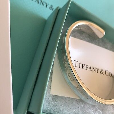 Tiffany & Co 1837 Sterling Silver Cuff Bracelet