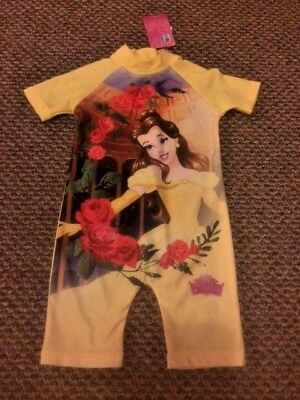 Girls Belle Beauty and the Beast Swimming Swimsuit Size 2 - 3 years - New!!!