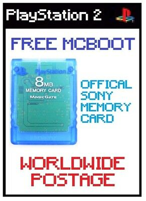 ULTIMATE FMCB / Free Mcboot Version 1.964 / Official Sony 8MB PS2 Memory Card
