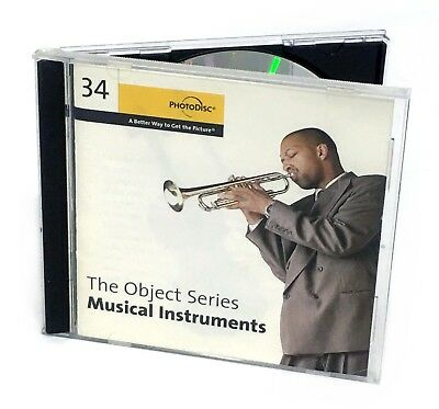 PhotoDisc - MUSICAL INSTRUMENTS (Object Series Number 34, Stock Photo Image CD)