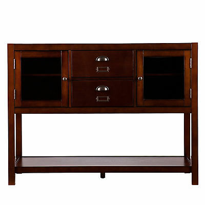 Mct51032 Expresso 2 Doors / 2 Drawers Console Table
