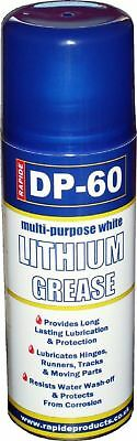 DP-60 White Lithium Grease Maintenance Spray Can Synthetic Lubricant 200ml