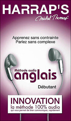 Methode Anglais Debutant + Perfectionnement + Vocabulaire Harraps Michel Thomas