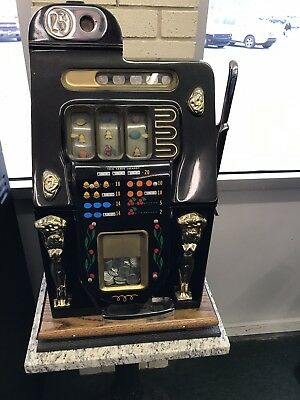 25 Cent Golden Nugget Slot machine Repro
