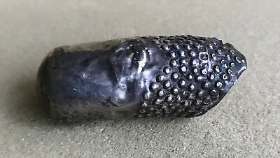 Solid Silver Antique full finger thimble 1929