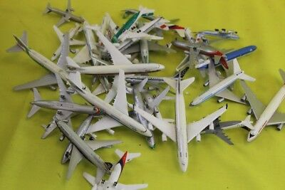 Job lot of retro metal toy commercial planes models ## oun 87 ep