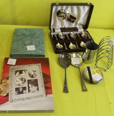 Small Collection Of Silver Plated Items ##OAFTS01JS