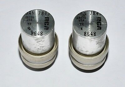 2 RCA Tubes JAN7845 from stock