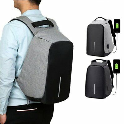 Waterproof Laptop Backpack Computer Anti-thieft Bag With USB Charge Port  T